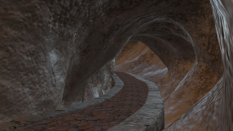 Cave royalty-free 3d model - Preview no. 4