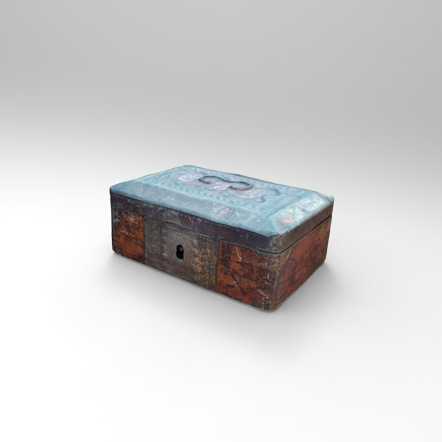 коробка royalty-free 3d model - Preview no. 2