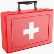 Pusty zestaw medyczny 3d model