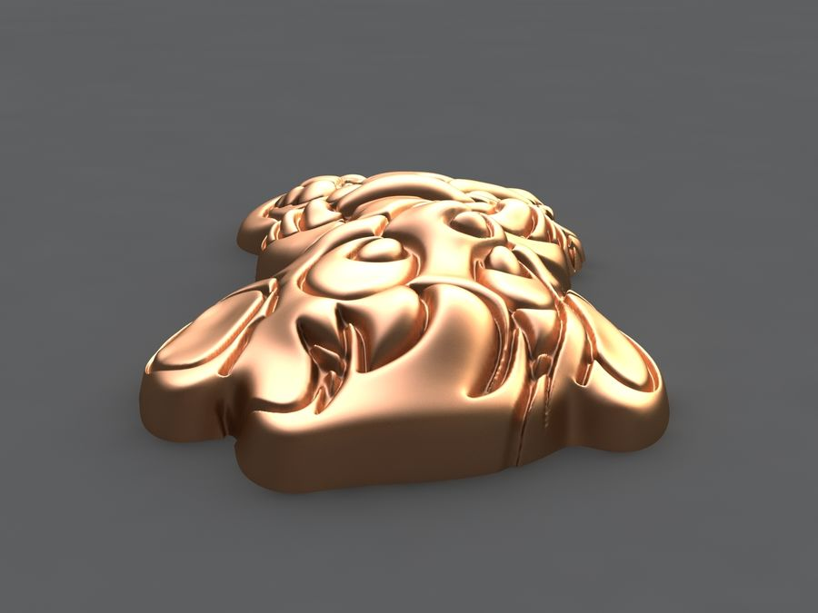 Macaco royalty-free 3d model - Preview no. 9