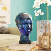 Busto de cabeza de vidrio Melancon modelo 3d