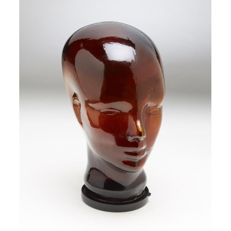 Melancon Glass Head Bust royalty-free 3d model - Preview no. 4