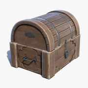 Chest Box Small 3d model