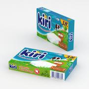 Kiri Soft Cheese 100g 3d model