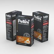 Кофейная сумка Pellini Espresso Superiore Cremoso 250г 3d model