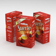 Coffe Bag Lavazza Suerte 250g 3d model