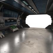 Scifi Interior Textured 3d model