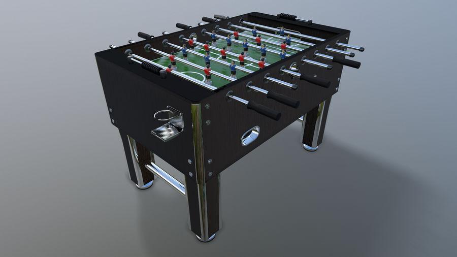 Футбольный стол royalty-free 3d model - Preview no. 10