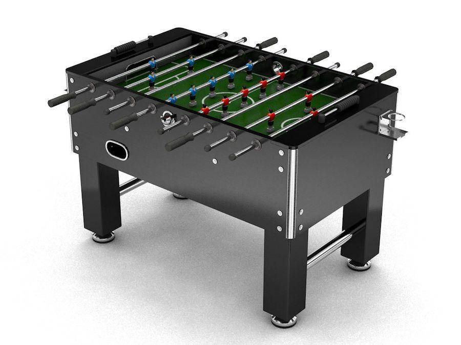 Футбольный стол royalty-free 3d model - Preview no. 3