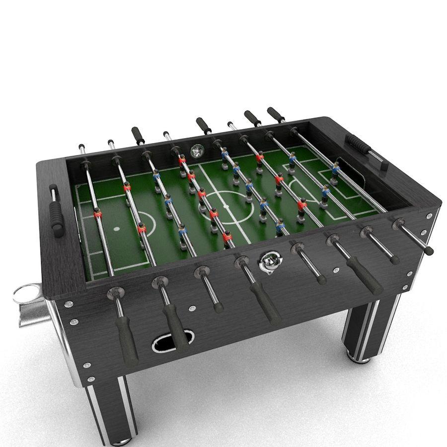 Футбольный стол royalty-free 3d model - Preview no. 2