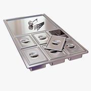Buffet Equipment 3d model