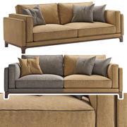 Temps canapé 3d model