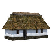 Vieille maison de village 3d model