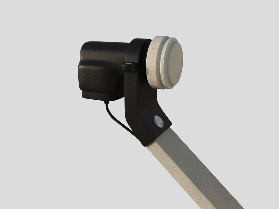 Antenna royalty-free 3d model - Preview no. 6