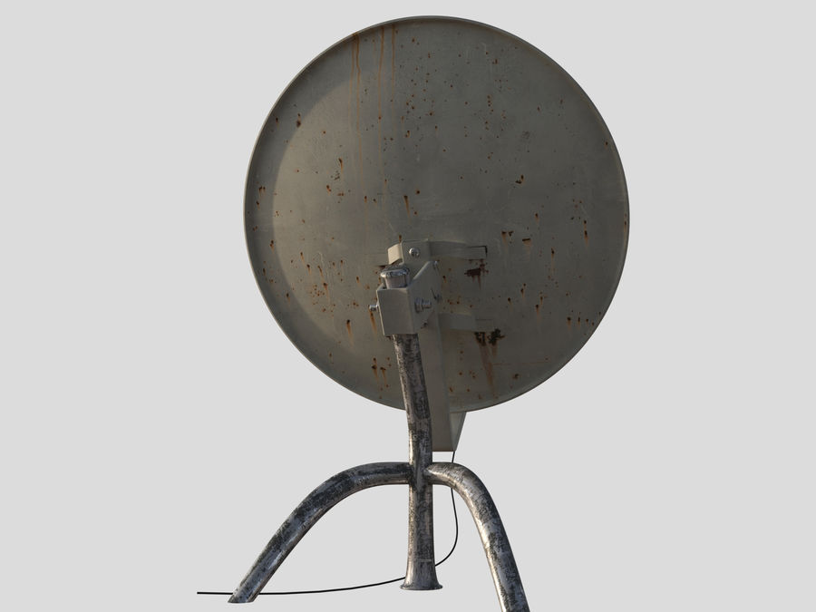 Antenna royalty-free 3d model - Preview no. 3