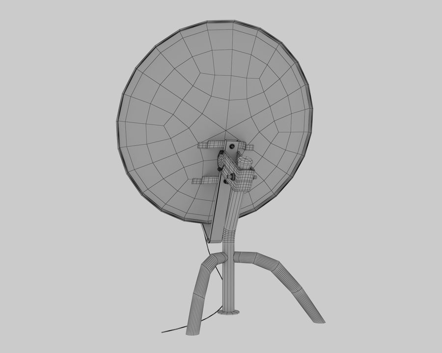 Antenna royalty-free 3d model - Preview no. 9
