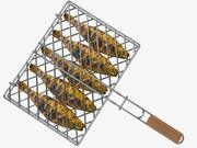 Fish Barbecue Grill 3d model