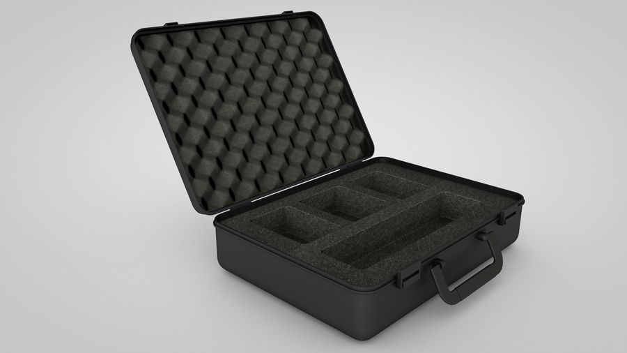 Suitcase royalty-free 3d model - Preview no. 4