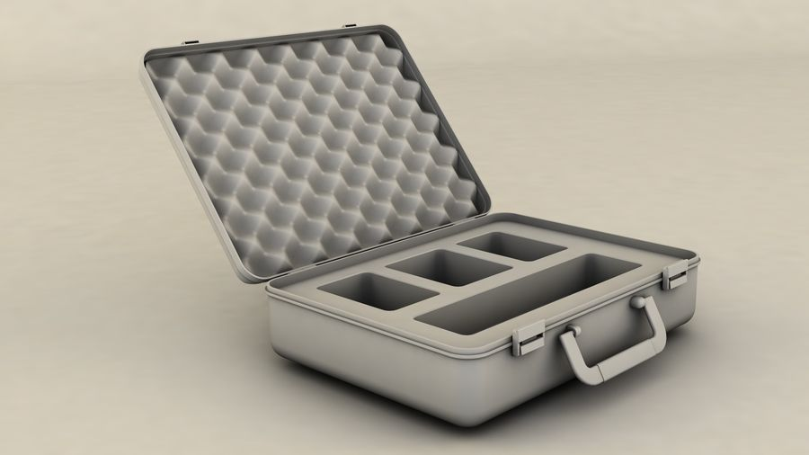 Suitcase royalty-free 3d model - Preview no. 8