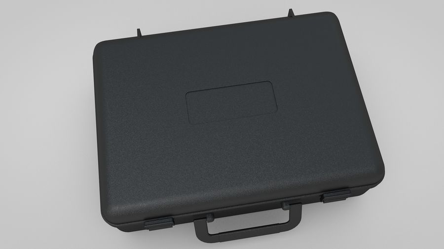 Suitcase royalty-free 3d model - Preview no. 3