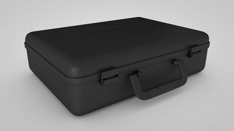 Suitcase royalty-free 3d model - Preview no. 1
