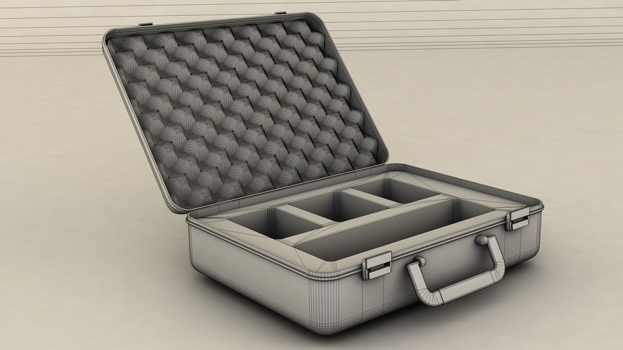 Suitcase royalty-free 3d model - Preview no. 10