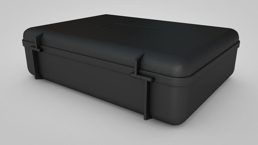 Suitcase royalty-free 3d model - Preview no. 2