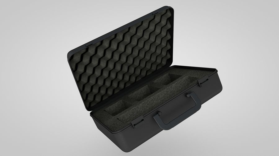 Suitcase royalty-free 3d model - Preview no. 5