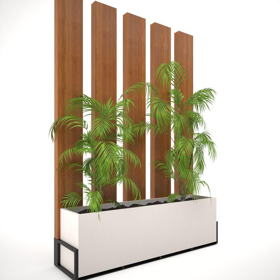 pot de fleur royalty-free 3d model - Preview no. 1