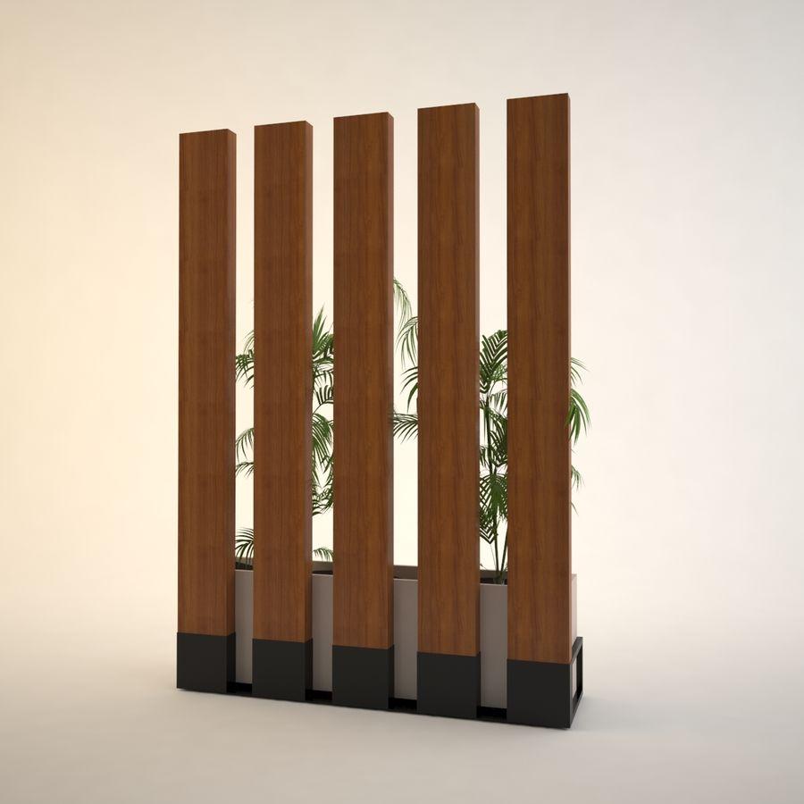 flower pot royalty-free 3d model - Preview no. 3