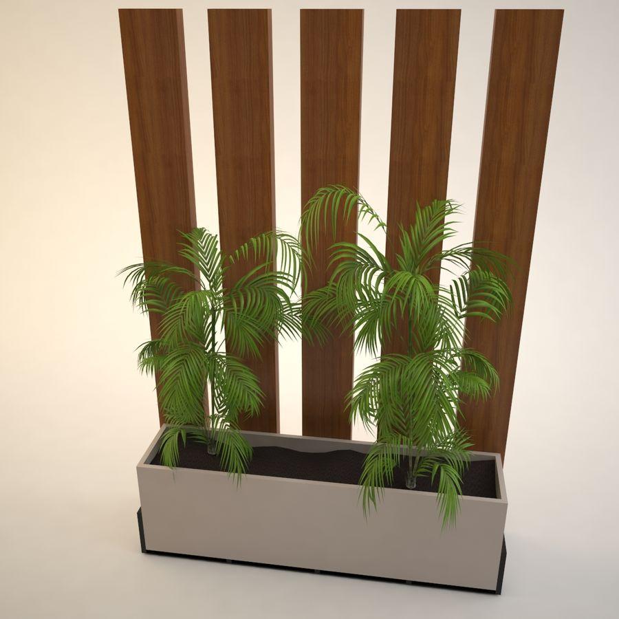 flower pot royalty-free 3d model - Preview no. 5