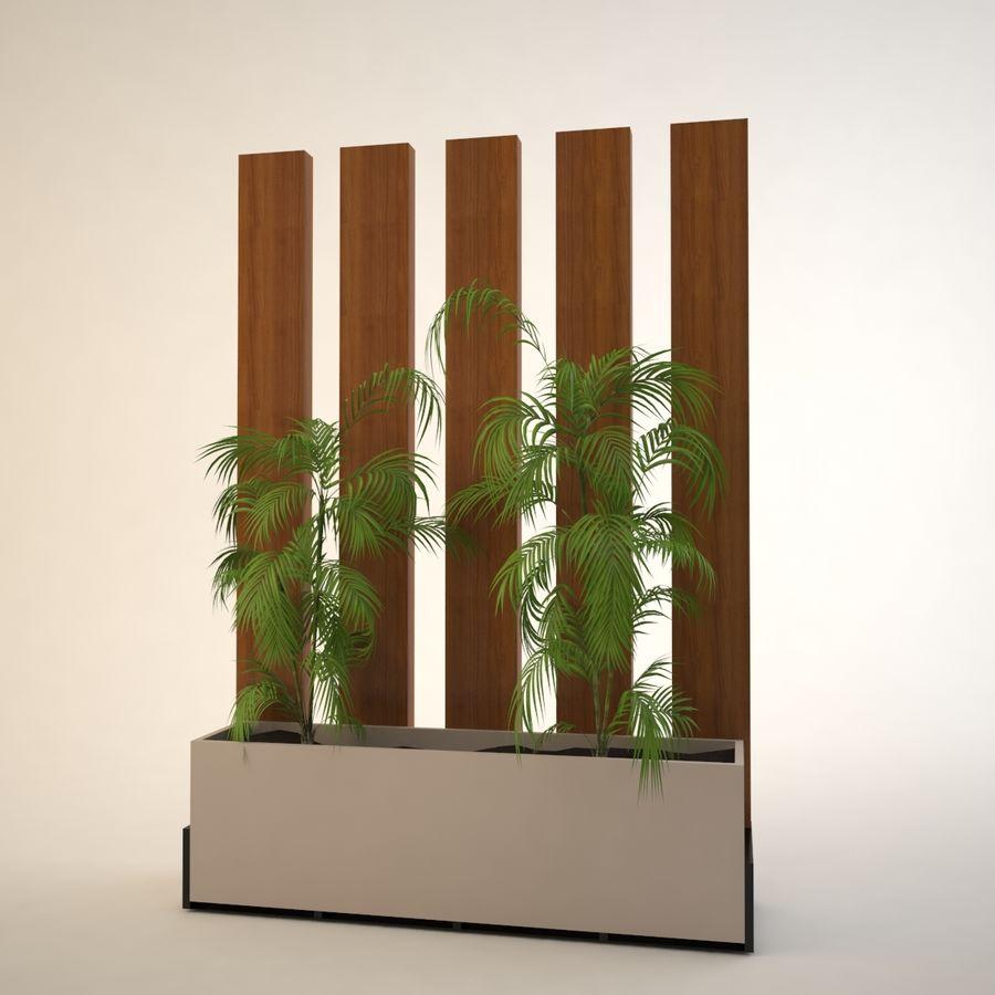 flower pot royalty-free 3d model - Preview no. 2