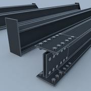 metal profile 3d model