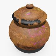 Jar Clay 3d model