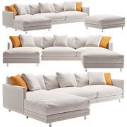 Lekka sofa 3d model