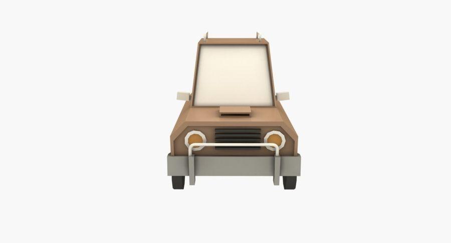Cartoon Car - 1 royalty-free 3d model - Preview no. 4