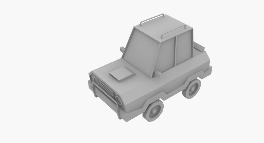 Cartoon Car - 1 royalty-free 3d model - Preview no. 6