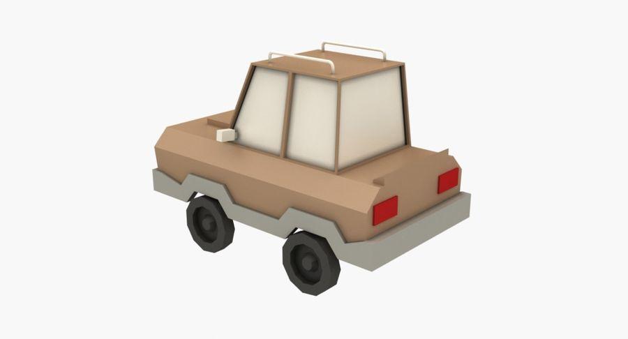 Cartoon Car - 1 royalty-free 3d model - Preview no. 2