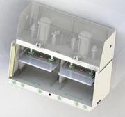 Plataforma de prueba de presión modelo 3d
