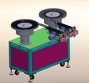Lager- und Zahnradvibrationsplattenausrüstung 3d model
