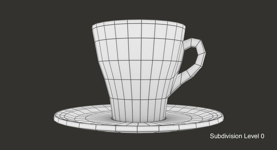 Tazza di caffè royalty-free 3d model - Preview no. 9