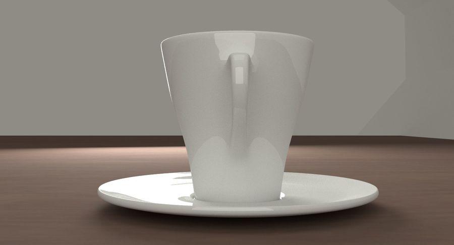 Tazza di caffè royalty-free 3d model - Preview no. 5