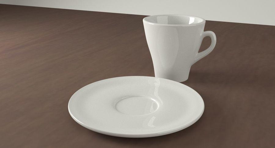 Taza de café royalty-free modelo 3d - Preview no. 7