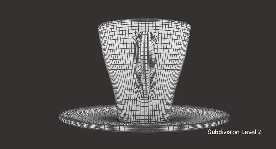 Taza de café royalty-free modelo 3d - Preview no. 14