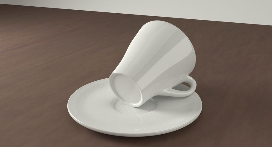 Tazza di caffè royalty-free 3d model - Preview no. 8