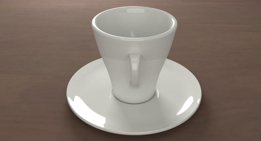 Tazza di caffè royalty-free 3d model - Preview no. 4