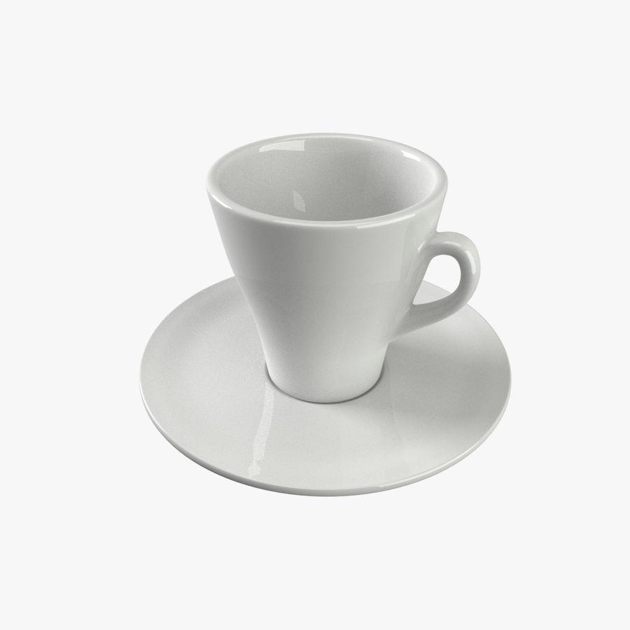 Tazza di caffè royalty-free 3d model - Preview no. 1