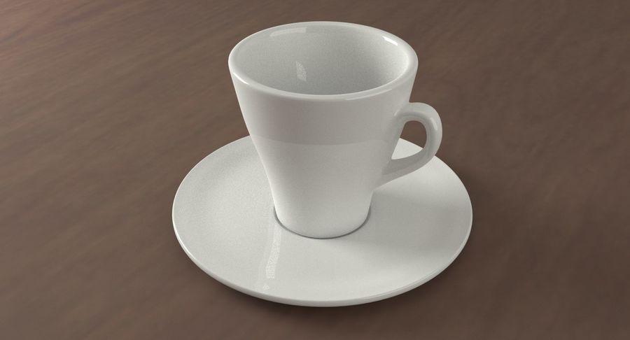 Tazza di caffè royalty-free 3d model - Preview no. 2