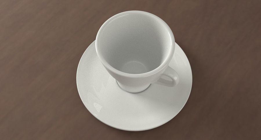 Tazza di caffè royalty-free 3d model - Preview no. 3