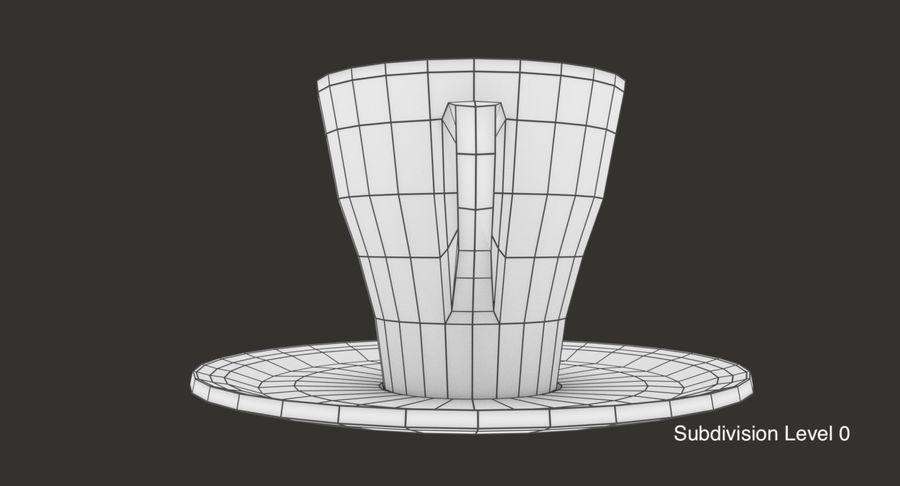Tazza di caffè royalty-free 3d model - Preview no. 13